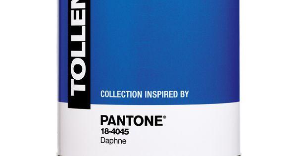 Les peintures tollens pantone disponibles dans leur joli pot chez castorama color - Pantone tollens ...
