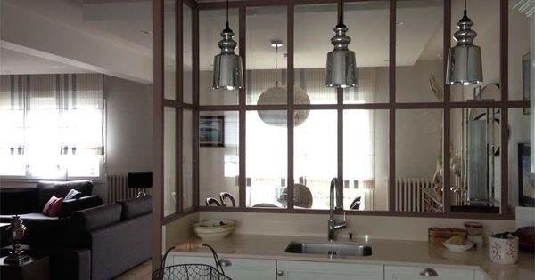 id ale pour donner du charme et cr er industrial verri re int rieur pinterest le charmes. Black Bedroom Furniture Sets. Home Design Ideas