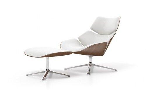 Eames Lounge Stoel.Shrimp Armchair By Jehs Laub Modern Recliner Chairs Modern