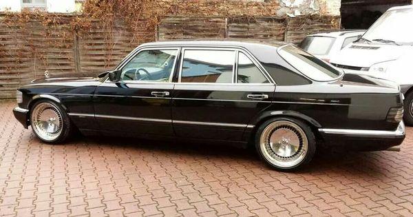 Custom mercedes w126 chrome rims mercedes benz w 126 for Mercedes benz chrome