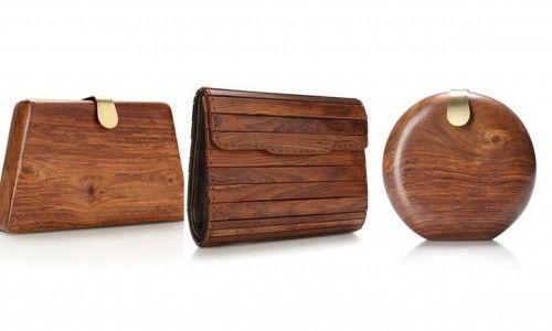 wooden clutches -- gorgeous and unique! | Bag Lady | Pinterest | More French connection, Unique ...