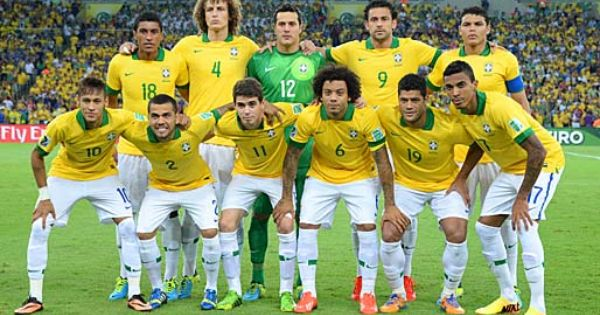 What A Beautiful Tribute To Neymar The Brazilian Players Did Neymar Couldn T Play So Neithe Brazil Football Team National Football Teams World Cup Qualifiers