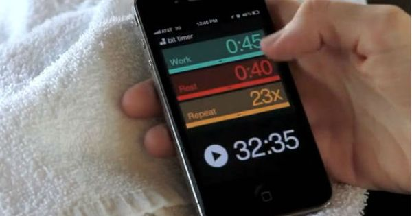 10 Interval Training apps. Watching a clock is awkward and stressful. Download