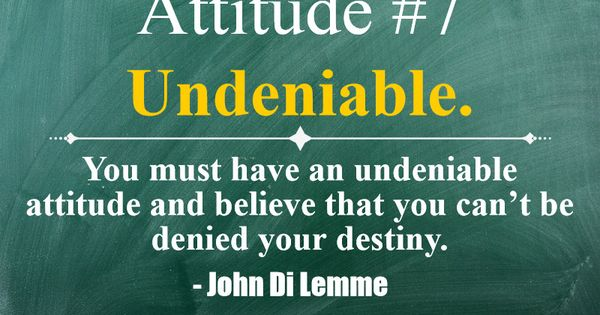 essay on attitudes