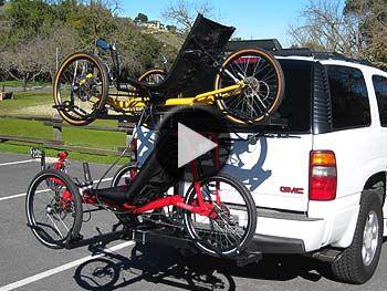 Hitch Rider Double Decker 2 Trike Rack Trike Bike Ride Catrike