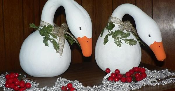 On christmas winter pinterest gourds painted gourds and pictures