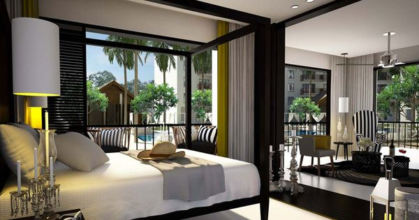dekorasi kamar tidur minimalis modern unique bedroom