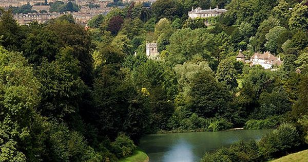 United Kingdom - England - Prior Park Landscape Garden near Bath, England