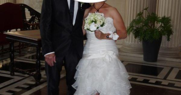 originale courte devant avec traîne  Robes de mariée et articles de ...