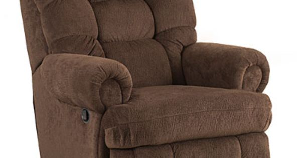 Stratolounger The Big One Nimbus Umber Recliner At