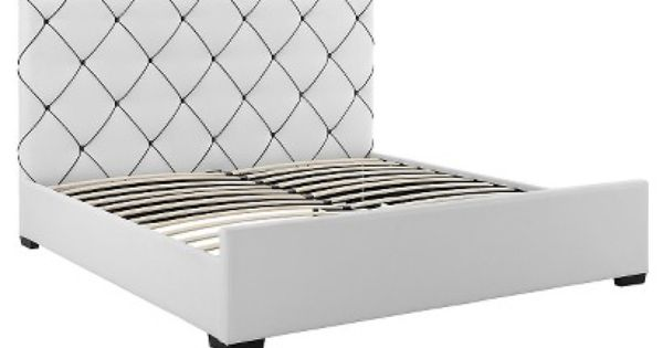 Hollywood Bed White Queen With Images Upholstered Beds