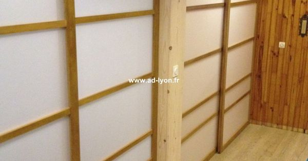 la cloison coulissante japonaise le bon plan d co cloison japonaise coulissante et porte. Black Bedroom Furniture Sets. Home Design Ideas
