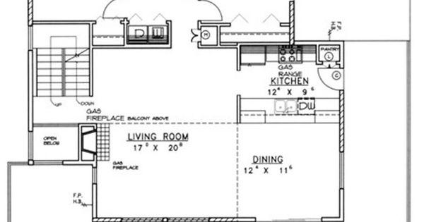 Plano principal casa moderna 2 planos de viviendas for Viviendas modernas planos