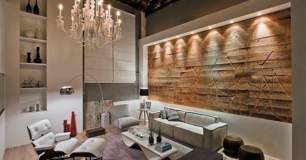 Decor salteado blog de decora o constru o - Paredes decoradas modernas ...