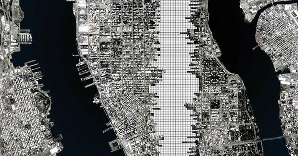Monumento continuo superstudio urban blueprint - Superstudio espana ...
