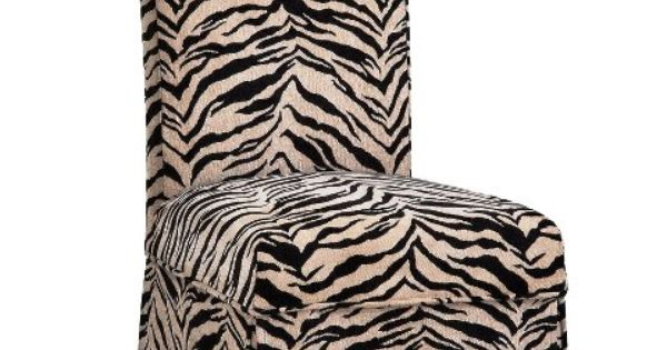 Parsons Chair W Zebra Parsons Chair Pinterest Zebra