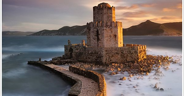 Ancient Fortress of Methoni, Peloponnese, Greece travel beautiful places
