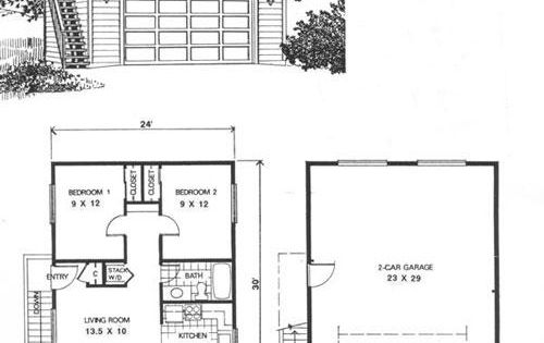 Ez garage plans garage apartment ideas pinterest for Garage apartment plans canada