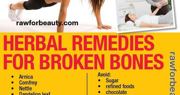 Natural Remedies For Fracture Healing