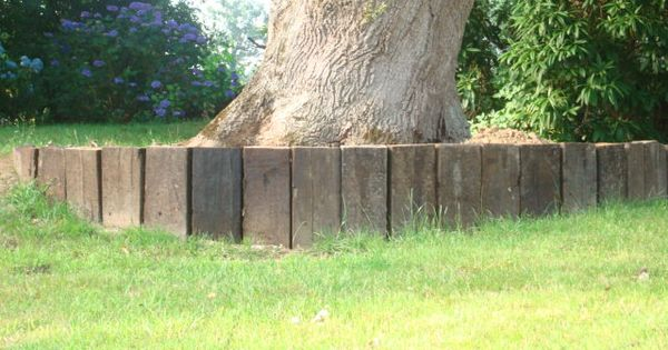 decoration paysagere traverses paysag res en bois traverses de chemin de fer r alisations. Black Bedroom Furniture Sets. Home Design Ideas