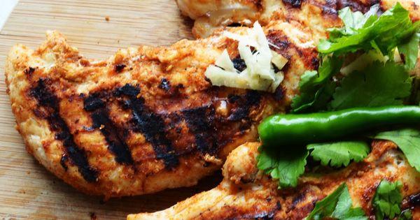 Tandoori Grilled Chicken Breast, a Bachelor's Recipe ...