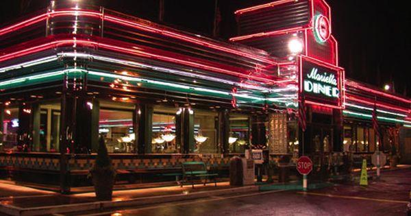 Marietta Diner Marietta Ga With Images Marietta Diner Road