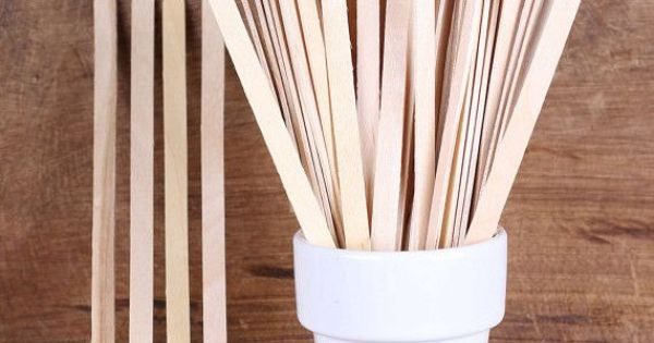 Skinny wooden popsicle sticks 5 quot cake pop sticks sticks and