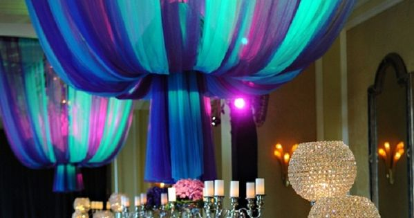 Purple And Blue Quinceanera Decorations decoration Idea for qu...