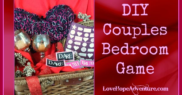 free printables to make your own diy couples bedroom game