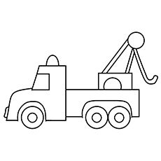Tow Truck Truck Coloring Pages Coloring Pages Coloring Pages Inspirational