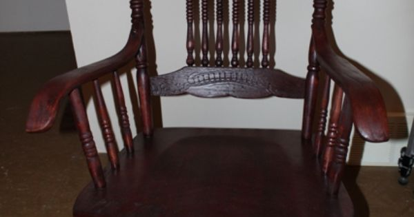 Refinishing A 100 Year Old Rocking Chair Old Rocking