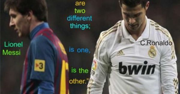 Messi Vs Ronaldo Quotes World Cup Motivational With Images