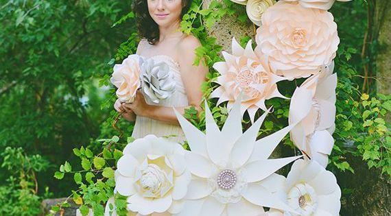 Como hacer flores de papel gigantes http - Como hacer flores de papel ...