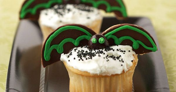 Disney Cupcakes for Halloween Holiday