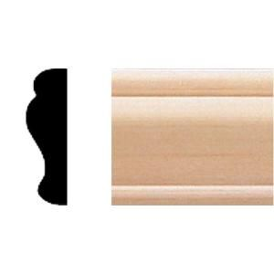House Of Fara 3 8 In X 1 1 4 In X 8 Ft Basswood Panel Moulding 719 In 2020 Panel Moulding Ceiling Materials Picture Frame Molding