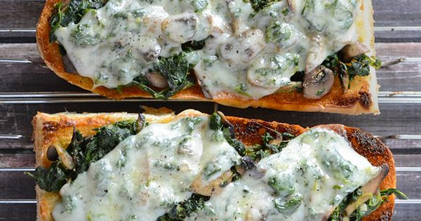 French bread pizza, Bread pizza and Mushrooms on Pinterest