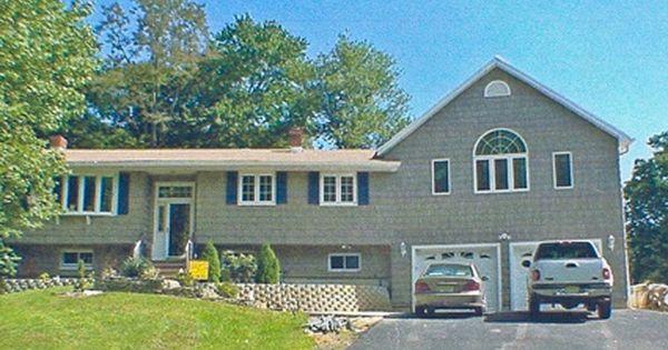 Bi Level Addition Over Garage Exteriors Pinterest Raised Ranch Remodel Ranch Remodel Outdoor Remodel