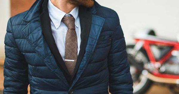 Quilted blazer #coldweatherstyle #menstyle #jacket