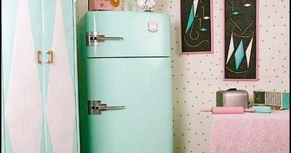 Decorating theme bedrooms - Maries Manor: 50s bedroom ideas - 50s theme