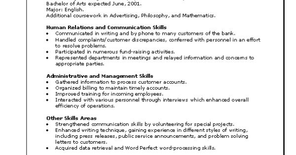 A Functional Resume