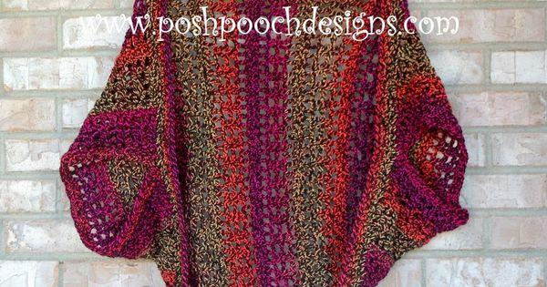 Firecracker Shrug Free Crochet Pattern - | crochet ...