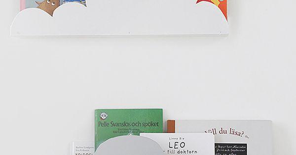 Ikea hacks para ni os estanter as en forma de nubes for Ikea almacenamiento ninos