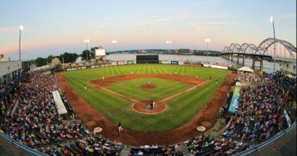 The Quad City River Bandits Play At Modern Woodmen Of America Field In Davenport Ia Voted The Best Minor League Ball Park In The Country The Way W Great River