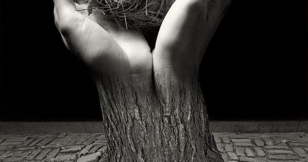 Jerry Uelsmann has been manipulating photos long before Photoshop transformed the world