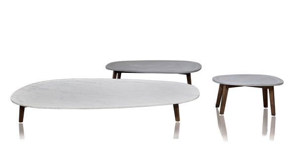 table basse contemporaine en marbre vietri by paola. Black Bedroom Furniture Sets. Home Design Ideas