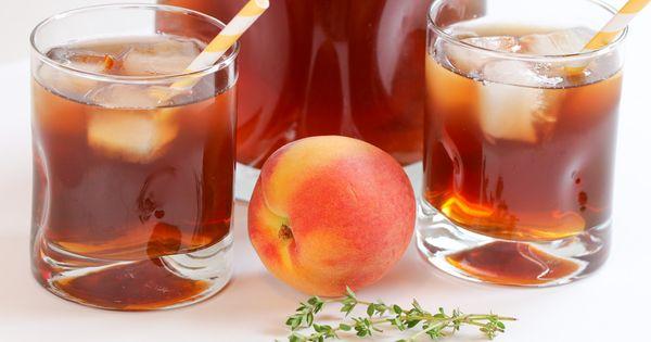 Teas, Peaches and Iced tea on Pinterest