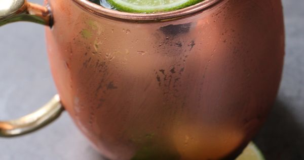 Moscow mule - Vodka, ginger beer, lime juice local favorite bozeman montana