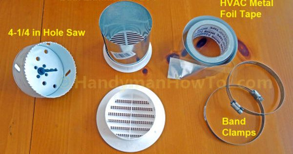 How To Install A Soffit Vent And Ductwork For A Bathroom Vent Fan Bathroom Vent Bathroom Vent Fan Bathroom Exhaust