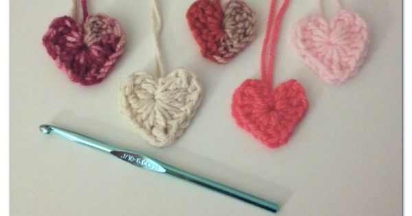 Crochet Patterns J Hook : Your Heart Out ? Crochet Heart J Hook:) Hand Made No Pattern ...