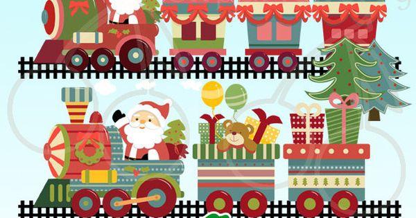 Free Vintage Clip Art - Santa, Santa,
